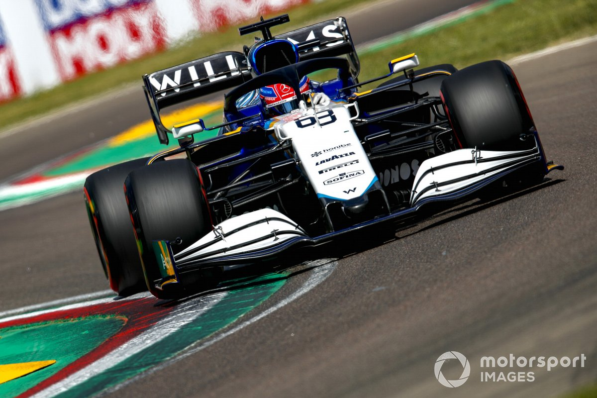 P12 George Russell, Williams FW43B
