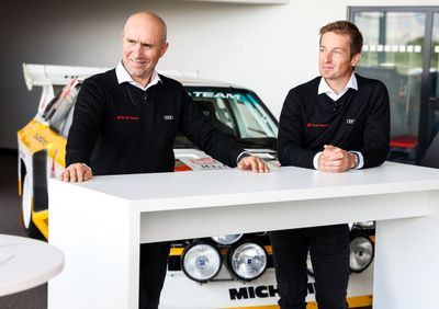Présentation des pilotes Audi