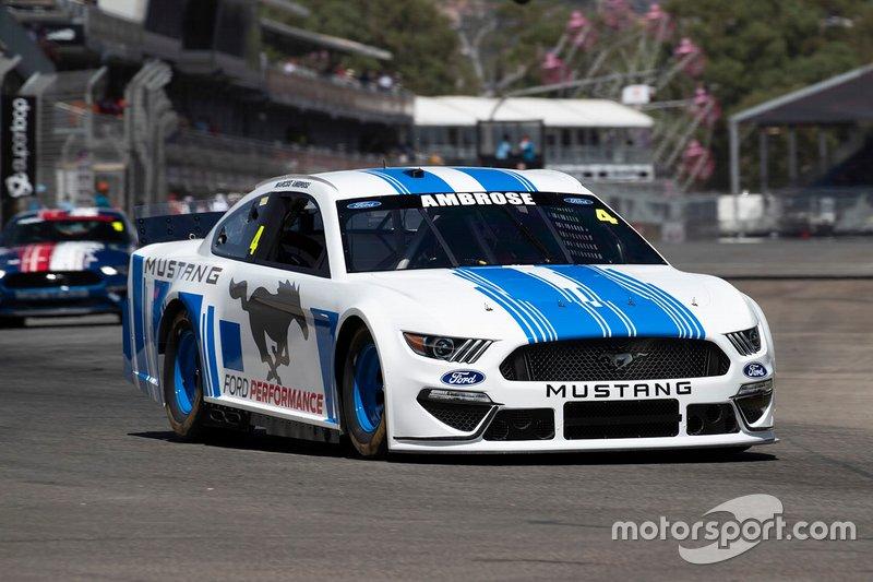 Marcos Ambrose, NASCAR Ford Mustang