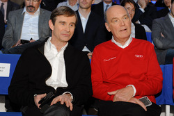 Pascal Vasselon, Toyota Racing und Dr. Wolfgang Ullrich, Audi Sport