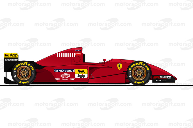 Michael Schumacher, Ferrari 412 T2, 1995
