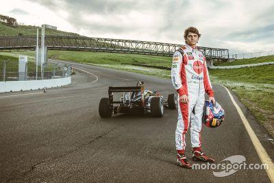 Vuelta récord de Pietro Fittipaldi F3 Sonoma