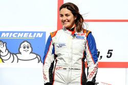 Podio: segundo lugar Tatiana Calderon