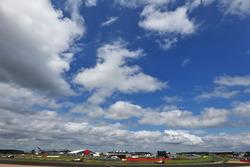 Romain Grosjean, Haas F1 Team VF-16 y Esteban Gutiérrez, Haas F1 Team VF-16