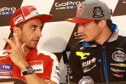 Andrea Iannone, Ducati Team y Jack Miller, Marc VDS Racing Honda