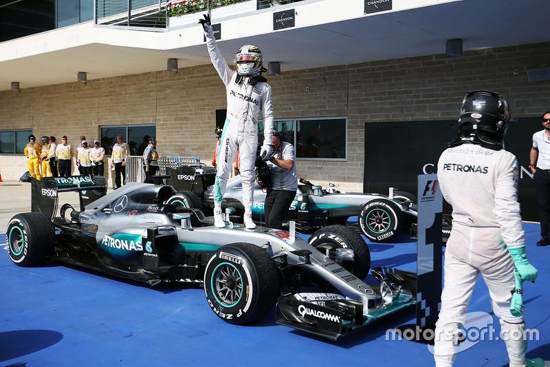 50- Gran Premio de Estados Unidos 2016, Mercedes