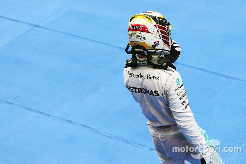 3. Lewis Hamilton, Mercedes AMG F1
