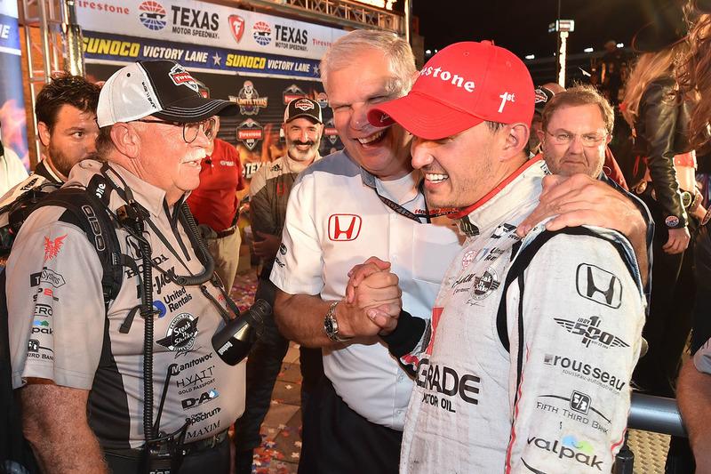 Sieger Graham Rahal, Rahal Letterman Lanigan Racing, Honda