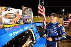 Race winner Justin Haley