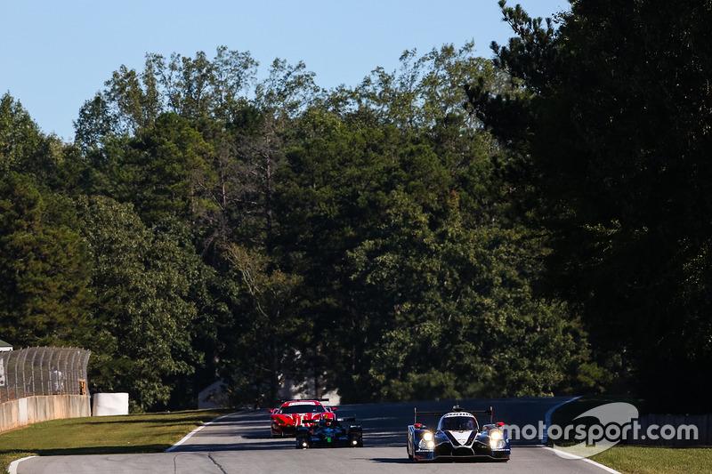 #60 Michael Shank Racing with Curb/Agajanian, Ligier JS P2 Honda: John Pew, Oswaldo Negri Jr., Olivier Pla