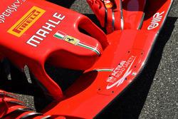 Носовой обтекатель и переднее антикрыло Ferrari SF71H
