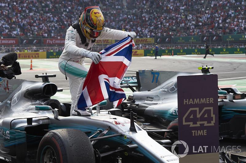 Campeón del mundo de F1 2017 Lewis Hamilton, Mercedes AMG F1