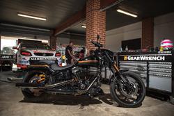 Car of Nick Percat, Brad Jones Racing Holden with Harley-Davidson