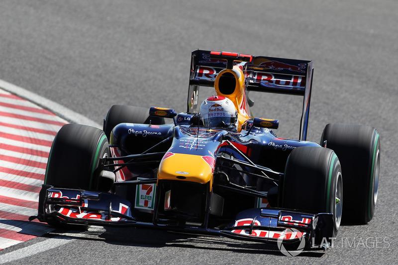 2010: Себастьян Феттель, Red Bull-Renault RB6