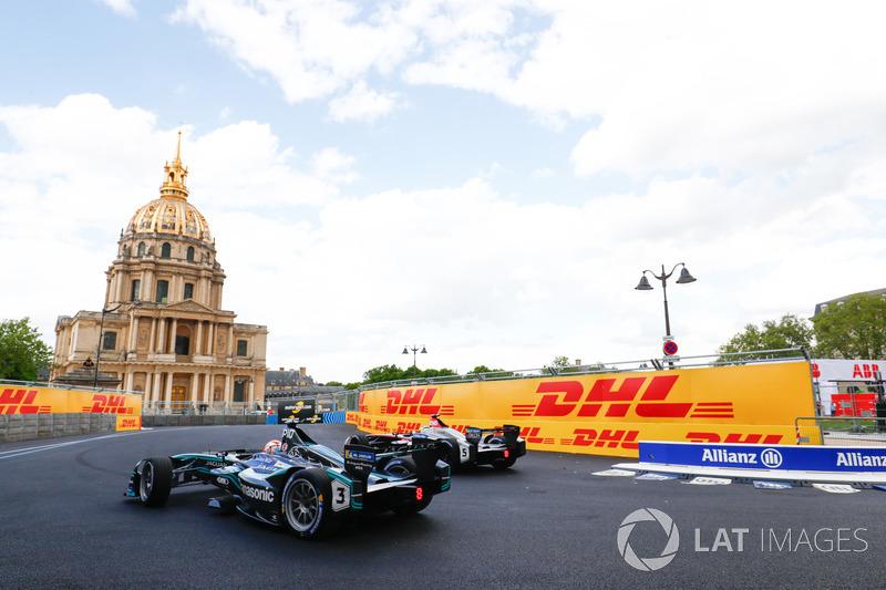 Maro Engel, Venturi Formula E Team, Nelson Piquet Jr., Jaguar Racing