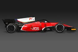 La monoplace Charouz Racing System