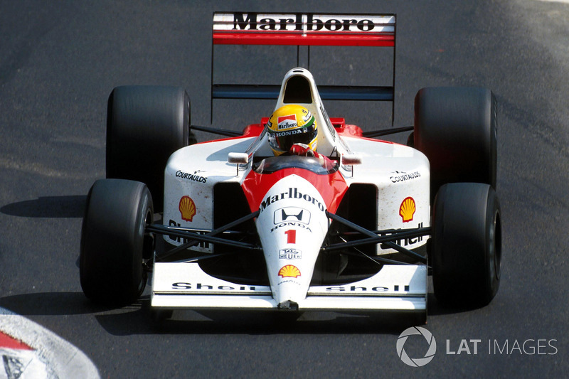1991 Belçika: McLaren MP4/6