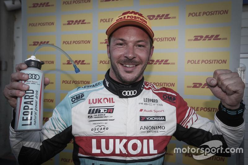 Pole position para Jean-Karl Vernay, Audi Sport Leopard Lukoil Team Audi RS 3 LMS