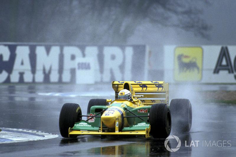 Riccardo Patrese, Benetton B193 Ford