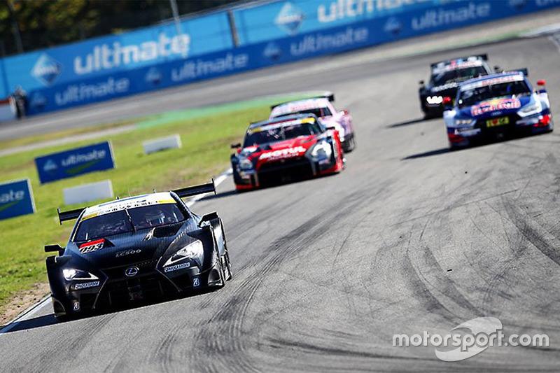 Super GT and DTM cars test
