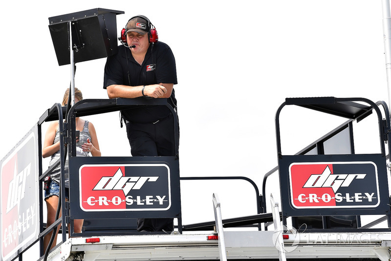 Bo LeMastus, DGR-Crosley, Toyota Tundra Crosley Brands crew chief Kevin Manion