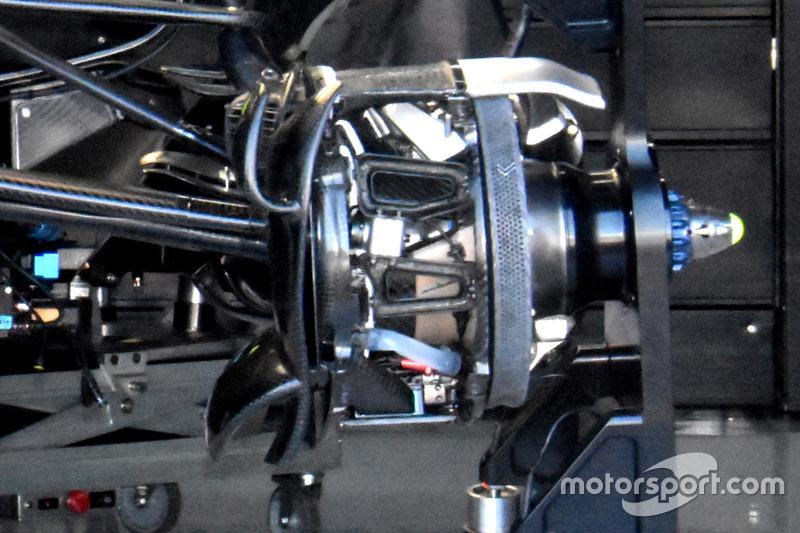 Frenos del Mercedes AMG F1 W09