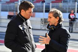 Alain Prost, consultant spécial de Renault Sport F1 Team
