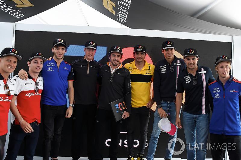 Фернандо Алоно, McLaren, Маркус Ерікссон, Шарль Леклер, Sauber