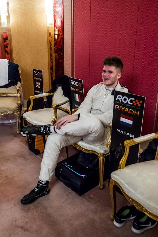 Rudy Van Buren backstage