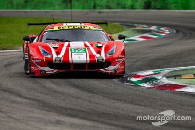Тесты Ferrari в Монце
