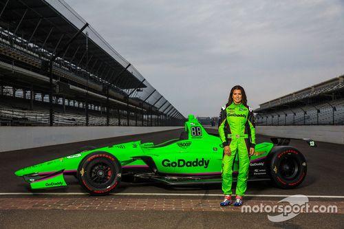 Danica Patrick Indy 500 livery unveil