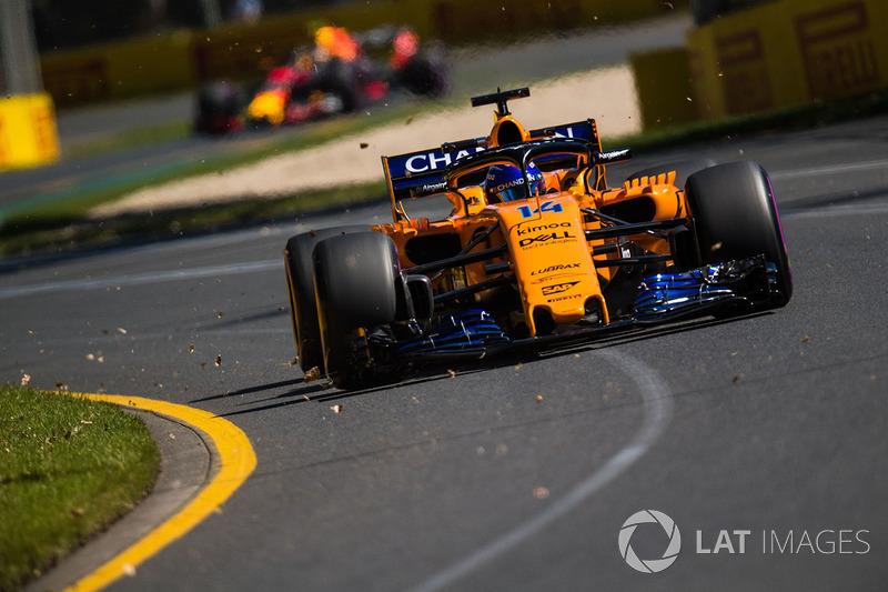 5. Fernando Alonso, McLaren MCL33