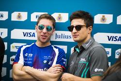 Robin Frijns, Amlin Andretti Formula E Team; Mitch Evans, Jaguar Racing
