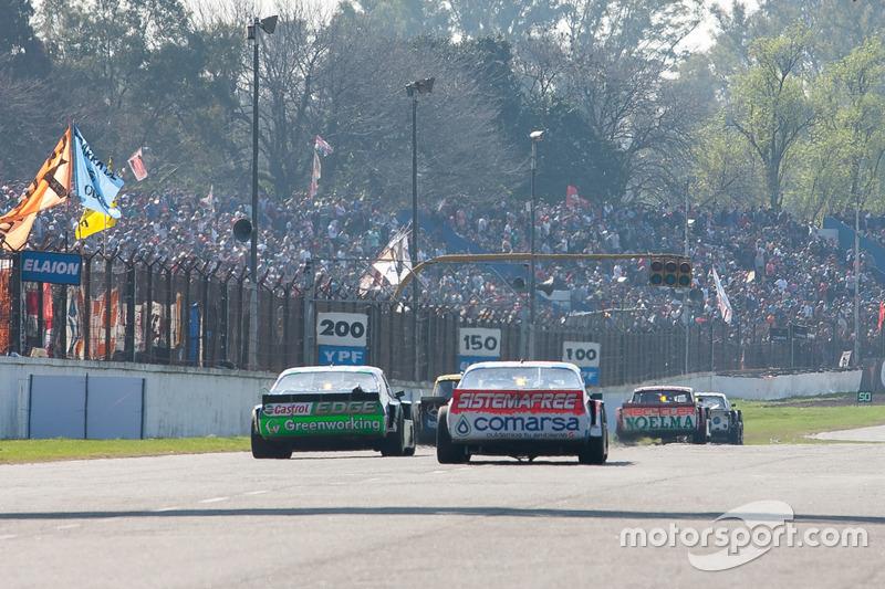 Camilo Echevarria, German Todino, Diego Azar, Alifraco Sport Chevrolet, Gaston Mazzacane, Daniel Nefa, Coiro Dole Racing Chevrolet