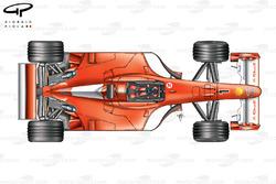Ferrari F2001 top view