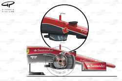 Ferrari SF15-T chassis detail (no chassis step like the F14T had)