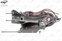Sauber C31 / Ferrari gearbox