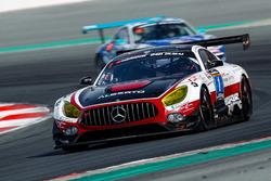 Christiaan Frankenhout, Roland Eggimann, Kenneth Heyer, Chantal Kroll ,Michael Kroll, Mercedes-AMG GT3, P1 Pro-Am, Hofor Racing supported by Widberg Motorsport