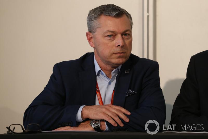 Промоутер Гран При Канады Франсуа Дюмонтье