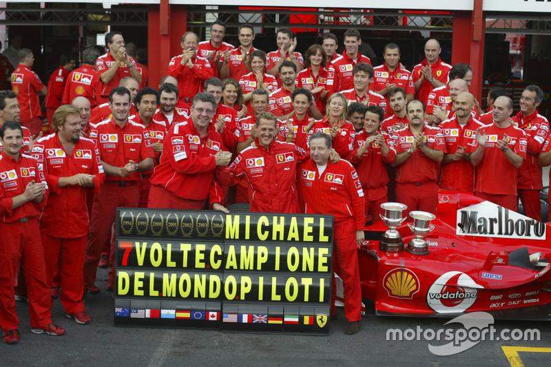 Ferrari - 2004 (GP Belgia)