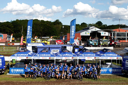 Yamaha Official Rally Team, team photo