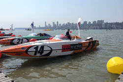 Powerboat of Darren Nicholson, Giovanni Carpitella