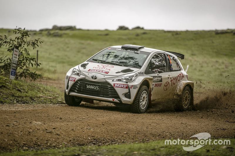 Harry Bates, Toyota Yaris AP4