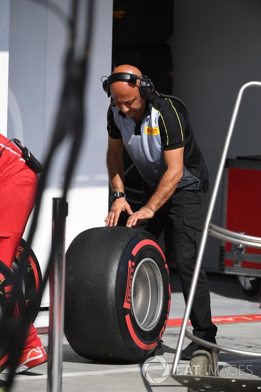 Ingeniero de Pirelli, neumáticos Pirelli