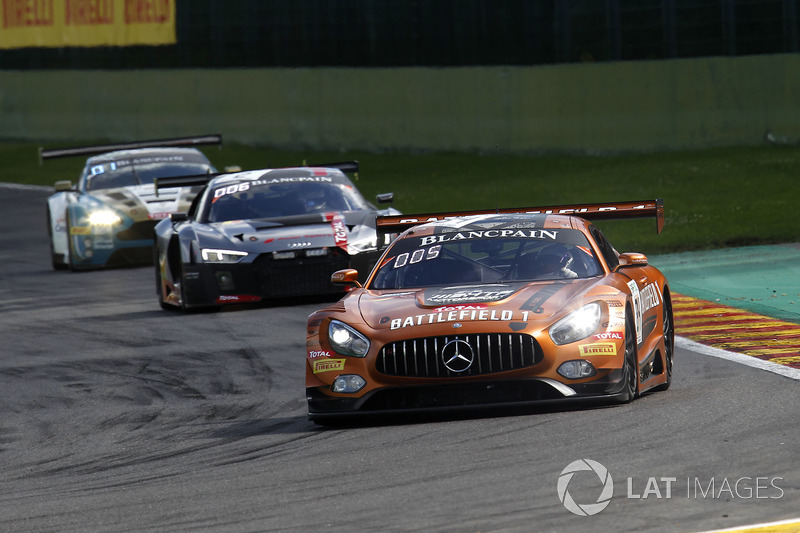 #84 Mercedes-AMG Team HTP Motorsport Mercedes-AMG GT3: Джиммі Еріксон, Максі Бук, Франк Перера