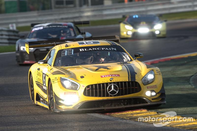 #15 Black Falcon Mercedes-AMG GT3: Бретт Сандберг, Доре Хапонік, Скотт Екерт, Єрун Блекемолен