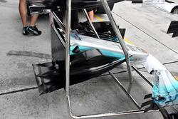 Mercedes AMG F1 W08: Nase