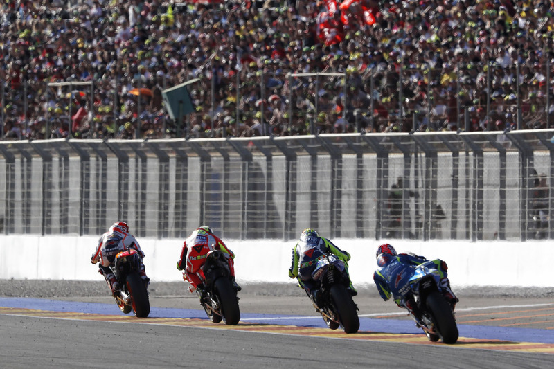 Марк Маркес, Repsol Honda Team, Андреа Янноне, Ducati Team, Валентино Россі, Yamaha Factory Racing
