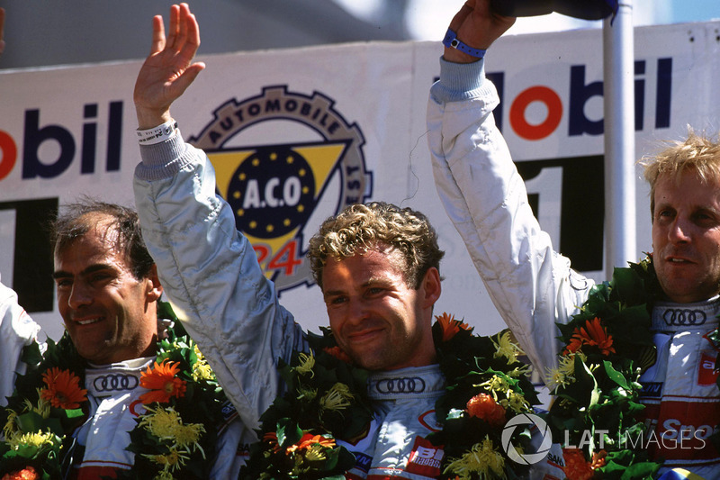 2000: Frank Biela, Tom Kristensen, Emanuele Pirro