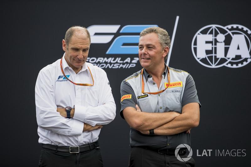 Bruno Michel dan Mario Isola